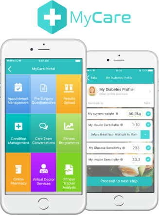 MyCare App for patients